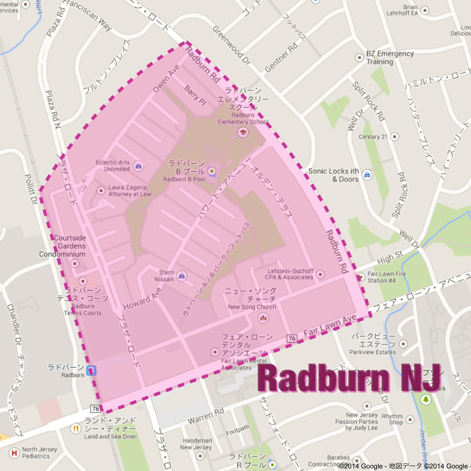 Radburn NJ